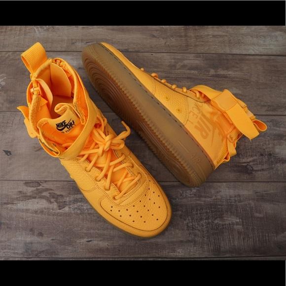 official photos 7f5e7 3cc87 *New* Nike SF AF1 Mid (GS) OBJ Odell Beckham Jr NWT